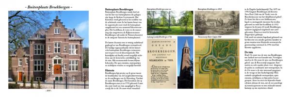 Folder Buitenplaats Broekbergen