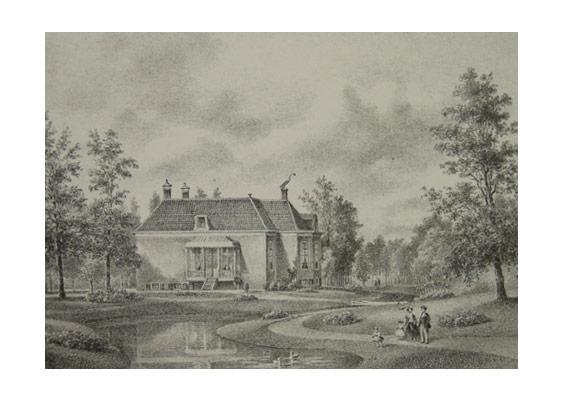 Buitenplaats Broekbergen in 1869