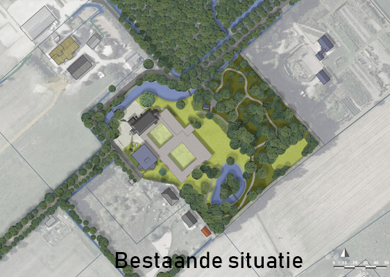 Bestaande situatie Broekbergen